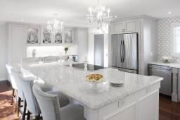 Cozinha Quartzo Carrara