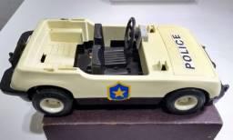 Carro Policia Playmobil (década 90)