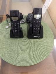 Telefone sem fio Intelbras. Excelente estado de conservação!