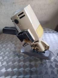 Máquina de cortar tecido elétrica com disco