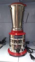 Liquidificador Alta Rotação Slim 1,5l - copo inox - Metvisa - Rui