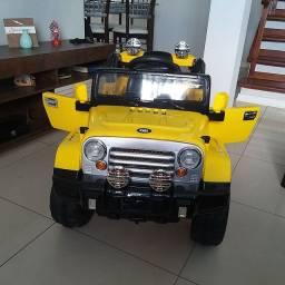 Jeep rally elétrico top