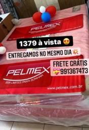Cama Queen Pelmex Nova Zerada Super Promoção frete grátis