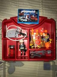 Playmobil Maleta Bombeiro 4180 Completa