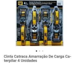 Cinta Catraca Amarração De Carga Caterpilar 4 Unidades