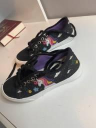 Sapato do unicórnio