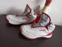 tênis de basquete AND1