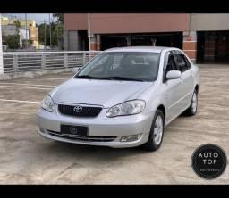 Corolla SEG aut. 2007 *top*couro*multimídia*impecável*financio em até 48x