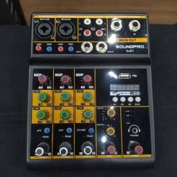 Mesa de som SoundPro S4BT