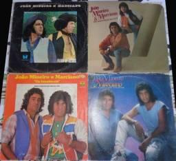 4 LPs João Mineiro e Marciano- 60,00
