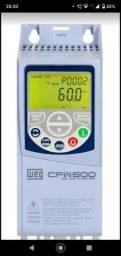INVERSOR DE FREQUÊNCIA CFW 500 220V MONO OU TRI.