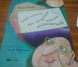 Livro: Carta Errante Avô Atrapalha Menina Aniversariante .Editora FTD