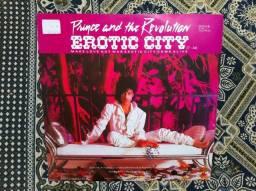 LP Prince - Single Erotic City / Importado Alemanha