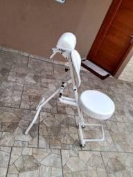 Cadeira portátil de maquiagem