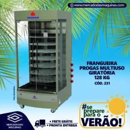 Frangueira giratória Progas multiuso 128kg Nova Frete Grátis
