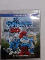 Blu-ray 3D Os Smurfs
