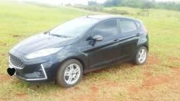 Vendo New Fiesta 1.6 flex preto 2017 modelo 2018 impecável