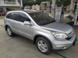 Honda Crv Exl 2010/10, top de linha com teto e 4X4, apenas 108.000Km, pneus novos