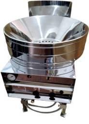 .Fritadeira turbo a gás manual em inox * Peça Única