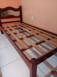 Vendo cama solteiro completa