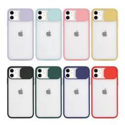Capinha Celular Iphone 12 | Capa Case Iphone12 Proteção Para Camera Traseira