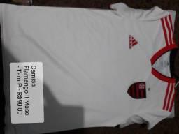 Camisas de treino Flamengo-masc e fem
