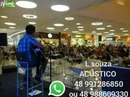 Música ao vivo/ L SOUZA ACÚSTICO 100% MODÃO