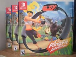 Jogo ring fit adventure Nintendo swith novo lacrado produto original