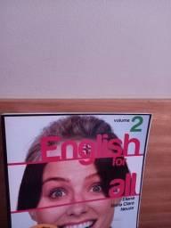 3 coleções  diferentes de livros  de  inglês
