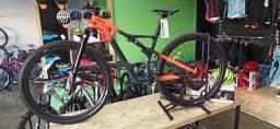 Bicicleta Cannondale Scalpel Carbon 2 2021, Laranja tamanho S e XL.