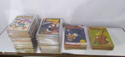 Gibis pato Donald coleção editora abril lote com 100 revistas em quadrinhos