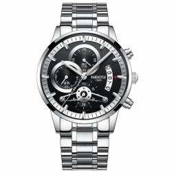 Relógio NIBOSI 1985 + Brinde (chave de ajuste de pulseira)