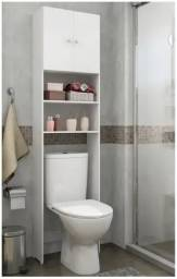 Armário Multimóveis para banheiro 2 portas Branco 1