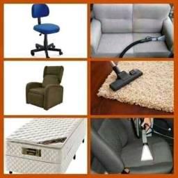 higienização e lavagem de sofá