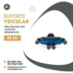 Suporte Veicular (Suporte para Celular e GPS)