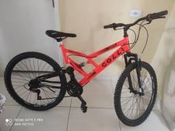 Bicicleta colli 21 macha aro 26 nova zero