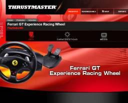 Volante Thrustmaster Ferrari Gt Experience PC PS2 E PS3