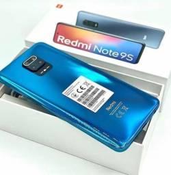 Melhor Custo Benefício! Xiaomi Redmi Note 9S - 4gb RAM 64Gb Memória - Câmera 48 MP