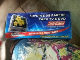 Vendo suporte de parede para tv e dvd nunca foi usado está na caixa