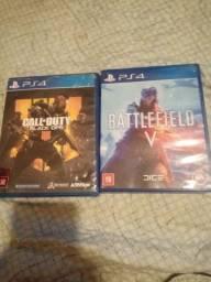 Battlefield 5 e Cod black ops 4