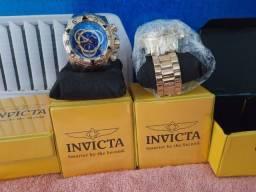 Relógios Invicta linha Gold Excurson