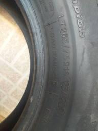 2 pneus remoud em bom estado 265x75x16