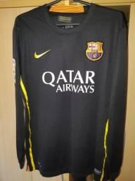 Camiseta Barcelona manga longa
