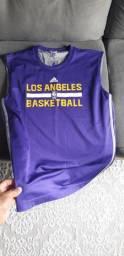 Camisa oficial de treino lakers NBA (basquete)