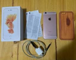 iPhone 6s 32gb Rose IMPECÁVEL - parcelo no cartão