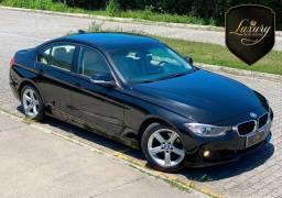 BMW 320i 2014 Preta Perolizada com Interno em Couro Bege