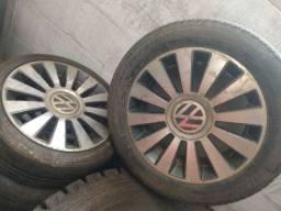 Jogo rodas aro16 com pneus