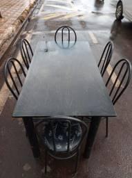 Mesa 6 Cadeiras- Entrega GRÁTIS