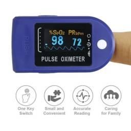 Oxímetro de dedo display led medidor saturação de oxigênio frete grátis