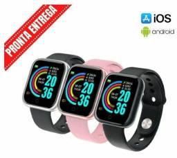 PROMOÇÃO Kit 3 Smartwatch D20